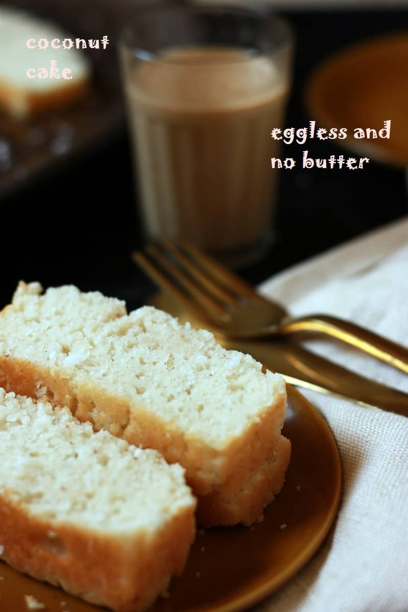 coconut cake recipe eggless how to make coconut cake