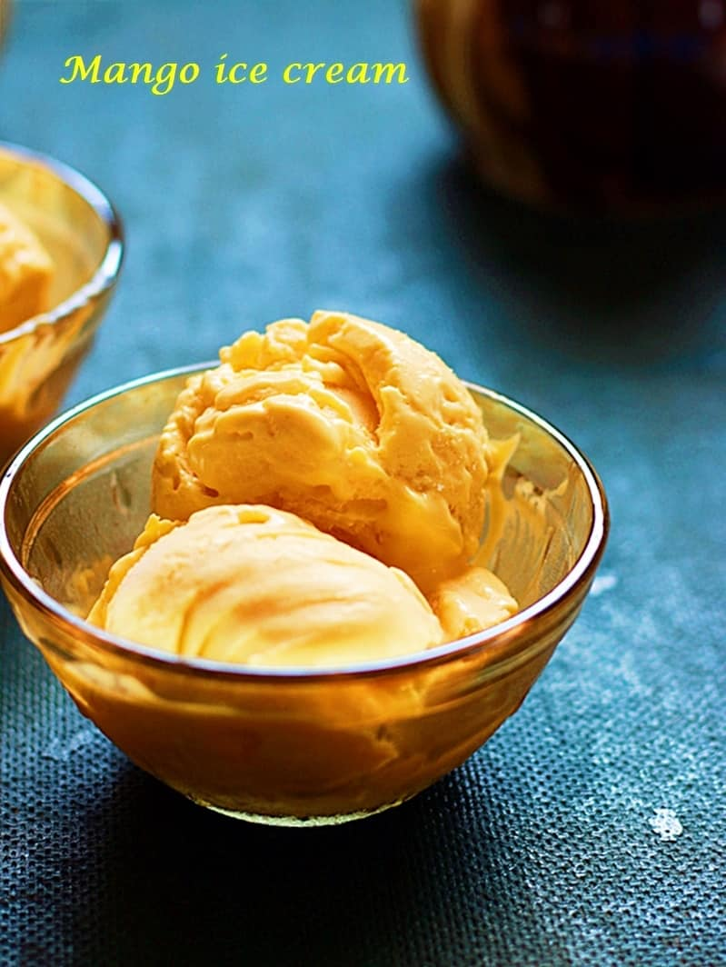 mango ice cream recipe d