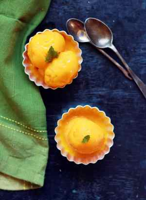 mango sorbet-mango recipes