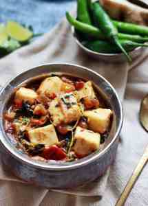 Methi paneer recipe, how to make methi paneer masala | paneer recipes