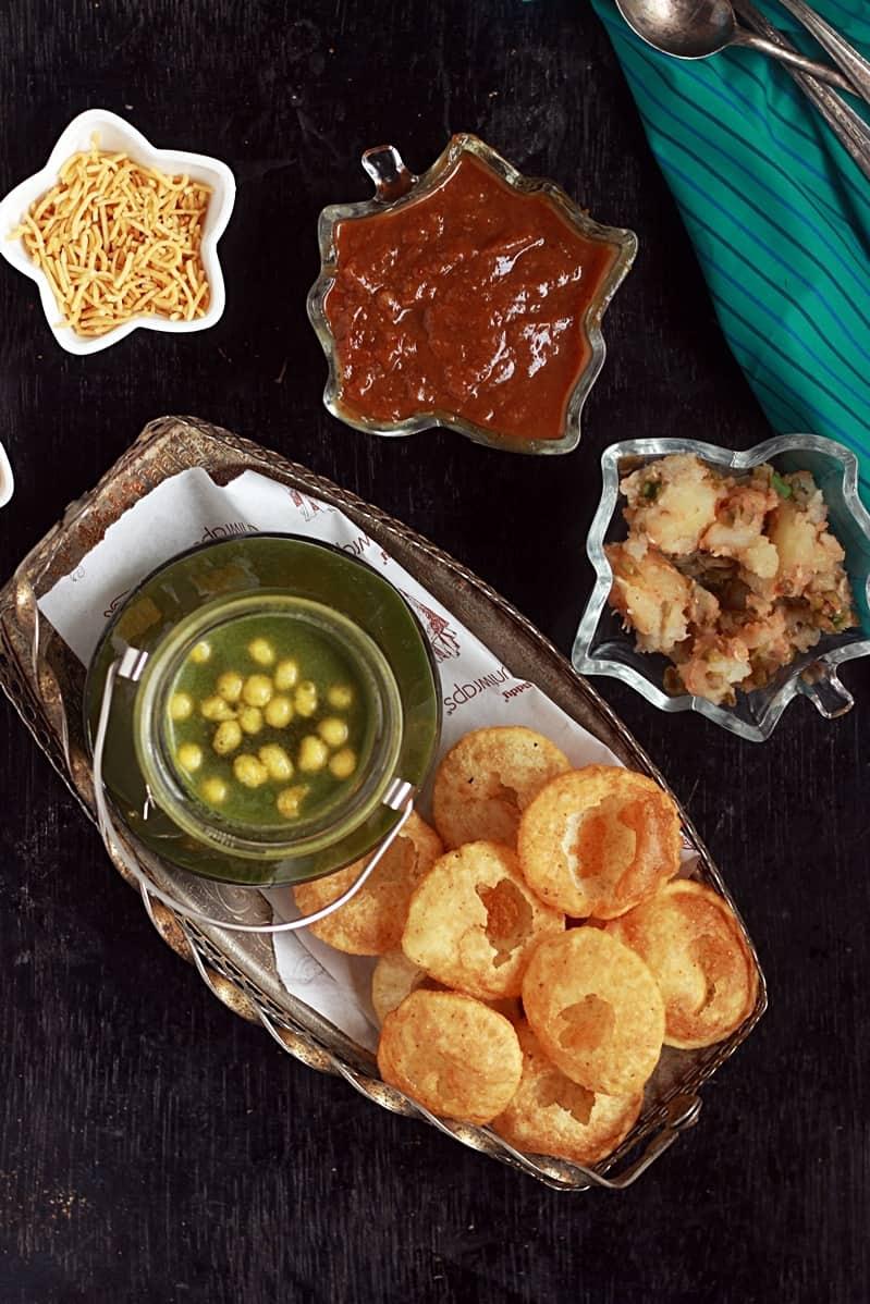pani puri ingredients
