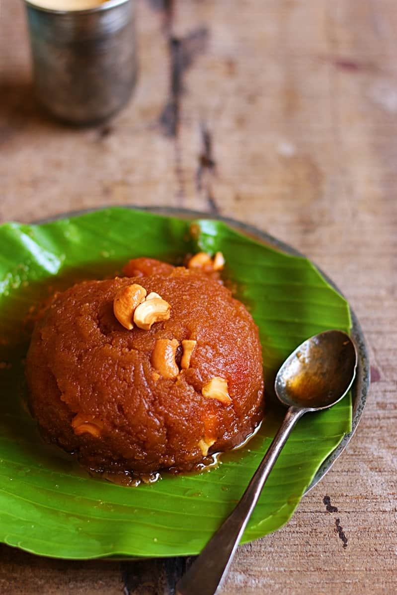 how to make wheat halwa