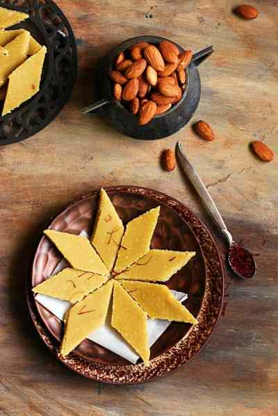 Badam katli recipe | Diwali 2016 sweets recipes