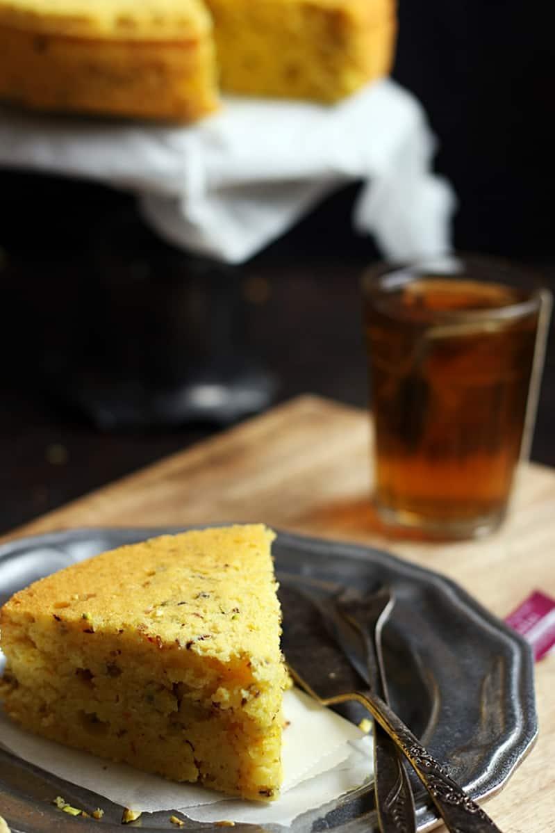Iranian mawa cake recipe