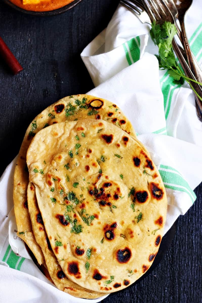 naan recipe without yeast