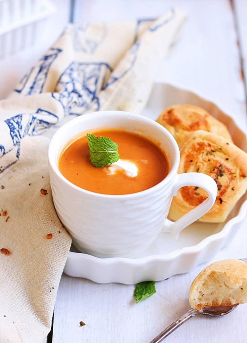 carrot ginger soup recipe b