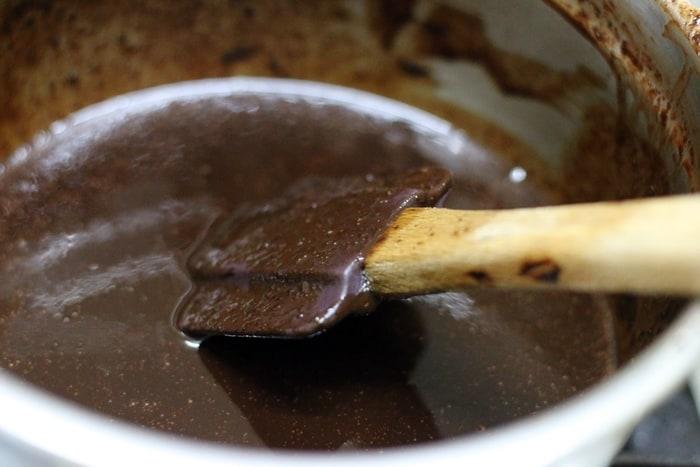 eggless brownies step 1