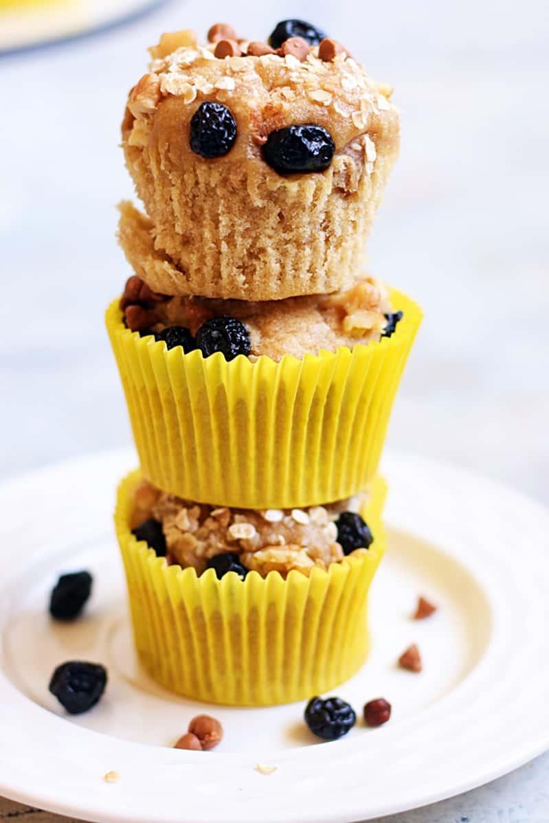 vegan banana muffins recipe b
