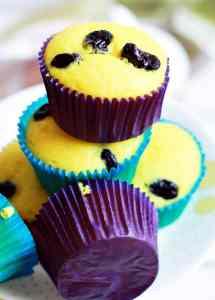 Lemon muffins recipe | vegan lemon muffins | How to make lemon muffins
