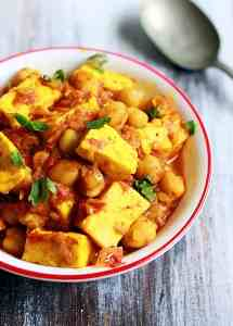 Chole paneer recipe | paneer channa masala recipe
