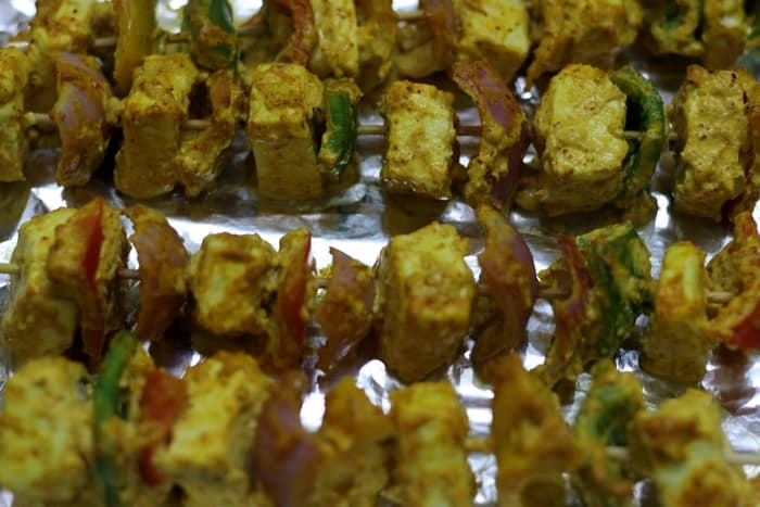 paneer tikka recipe step6