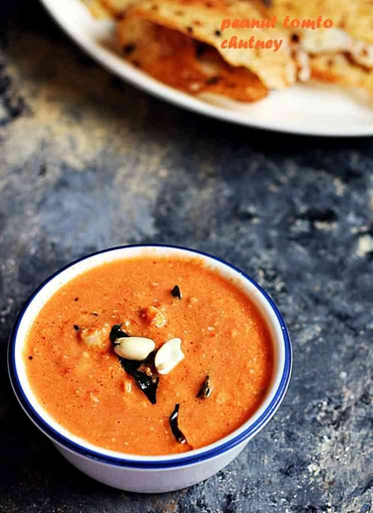peanut tomato chutney recipe