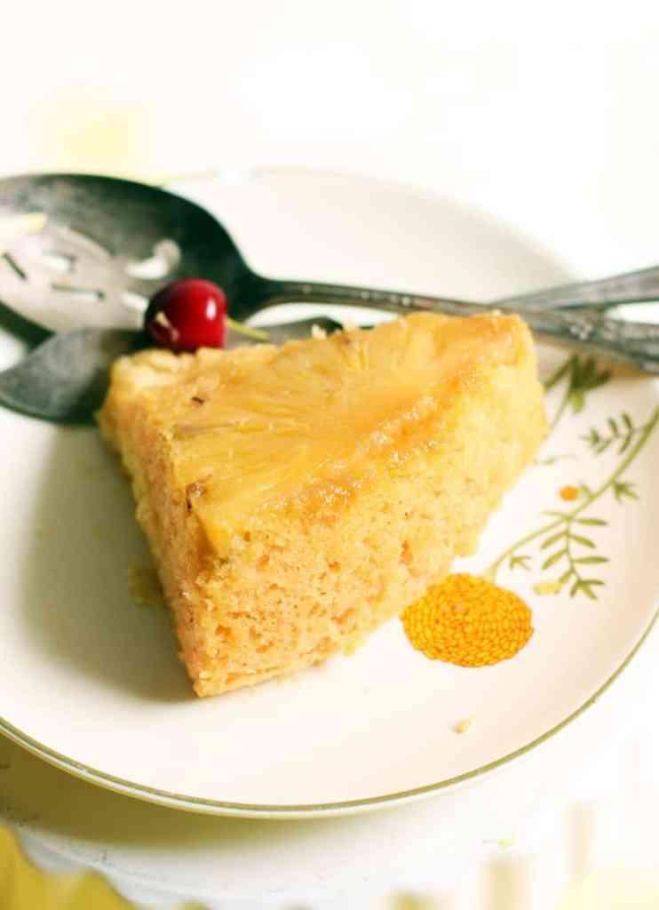pineapple upside down cake recipe c