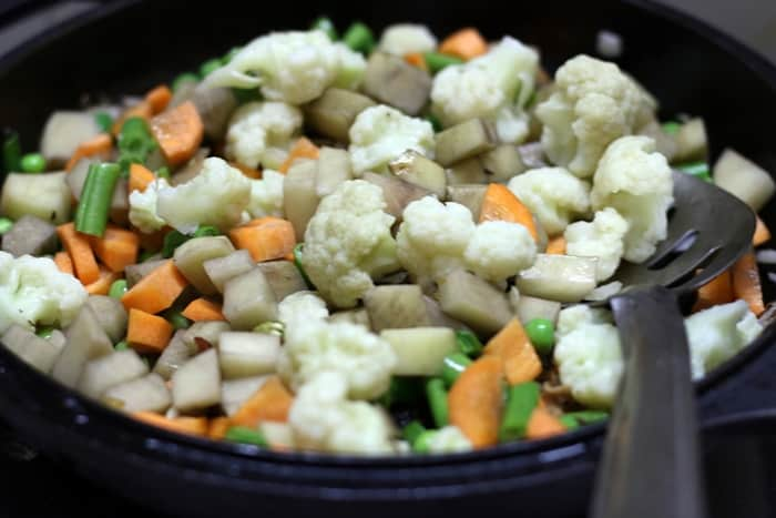 veg dum biryani recipe step 7