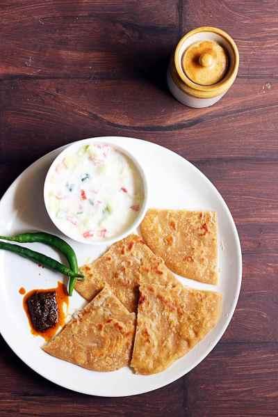 Mooli paratha recipe   How to make mooli paratha   Radish paratha recipe