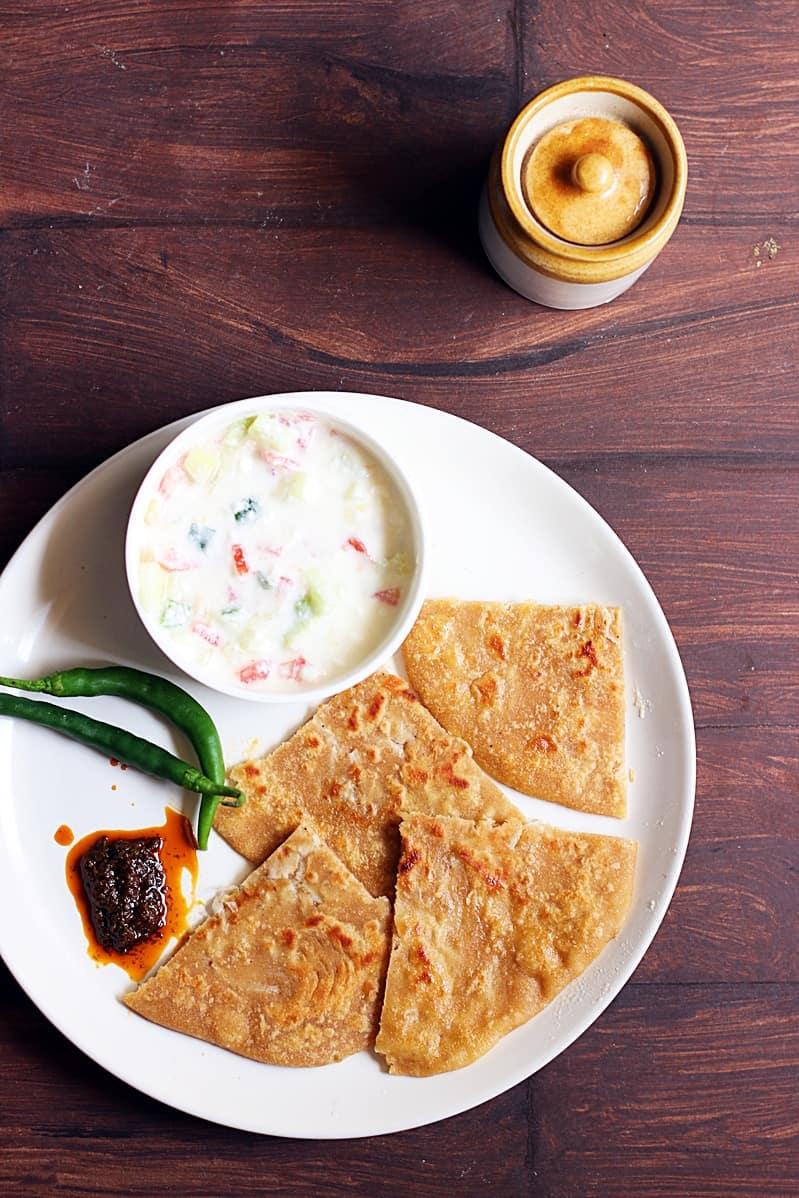 mooli paratha recipe b
