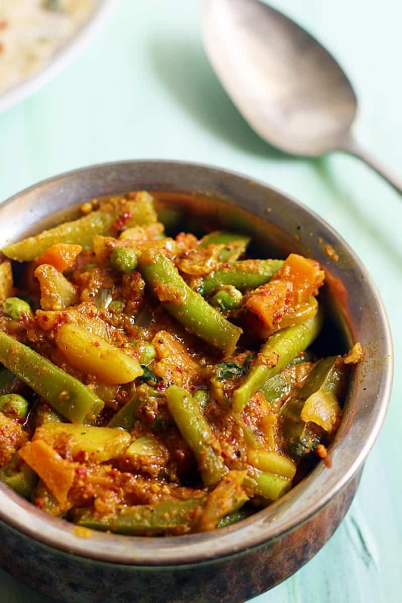veg kholapuri recipe b