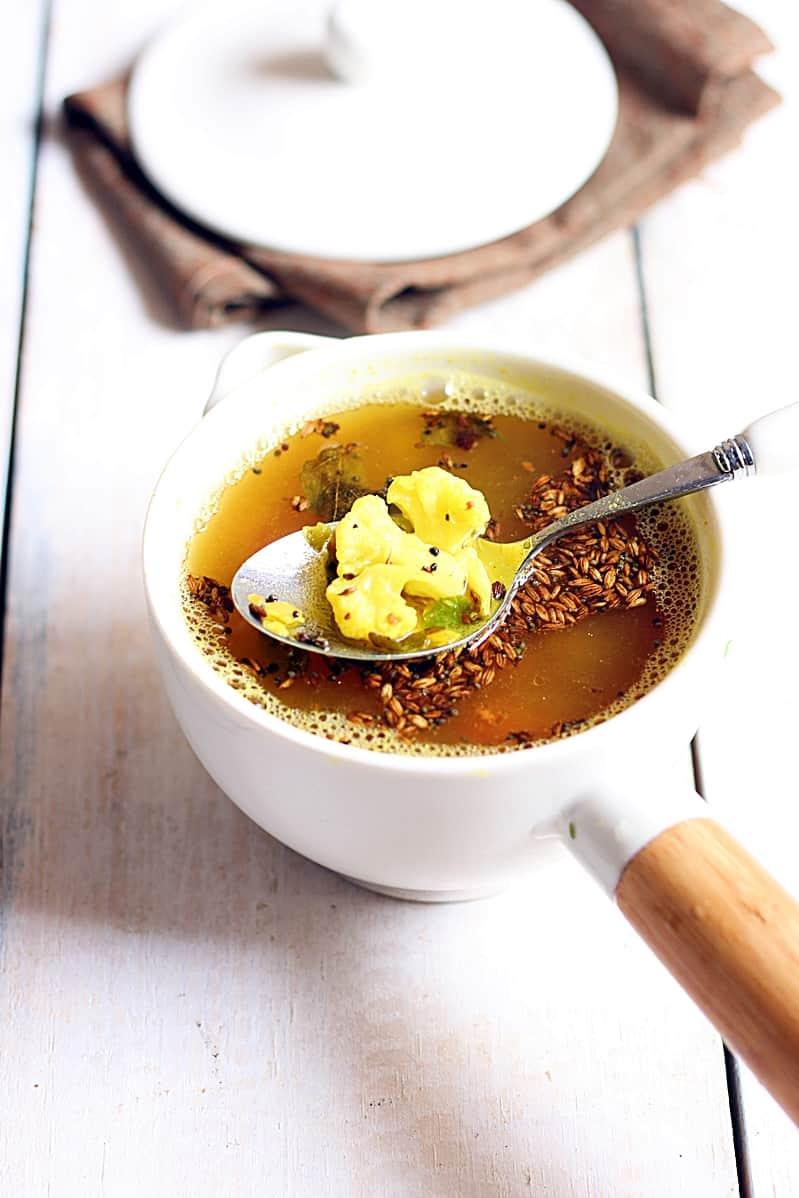 cauliflower rasam recipe c