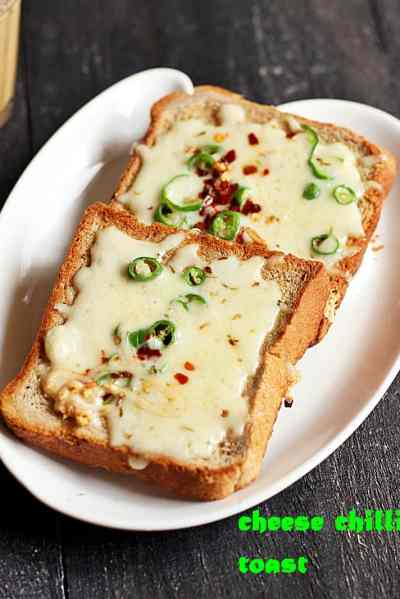 cheese chilli toast recipe