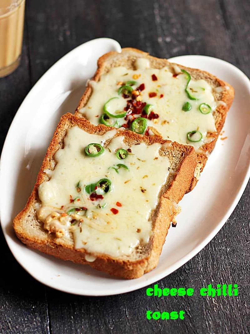 cheese chilli toast recipe