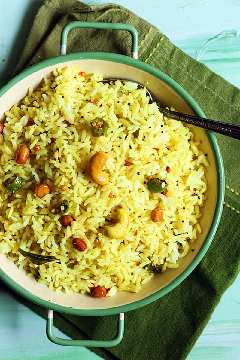 lemon rice recipe step 2