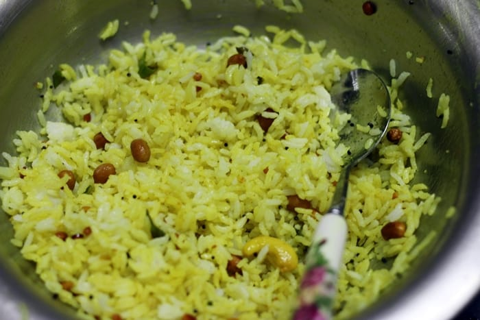 lemon rice step 7
