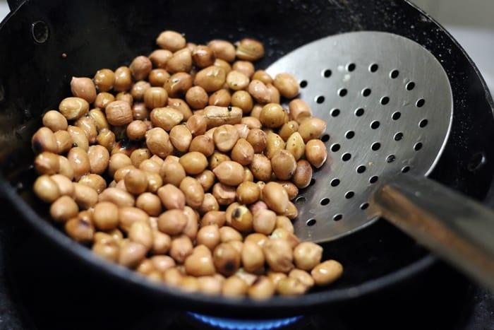 peanut chutney recipe step 1