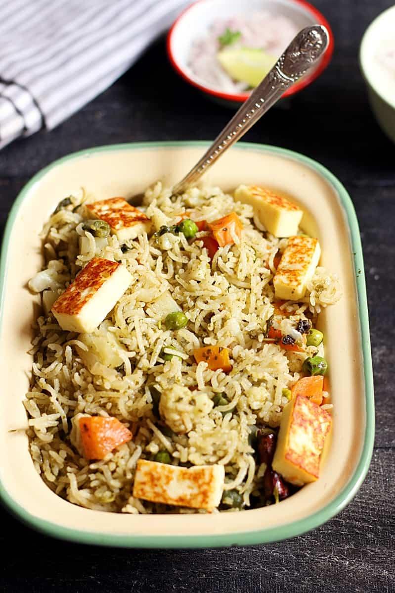 veg biryani restaurant style recipe a