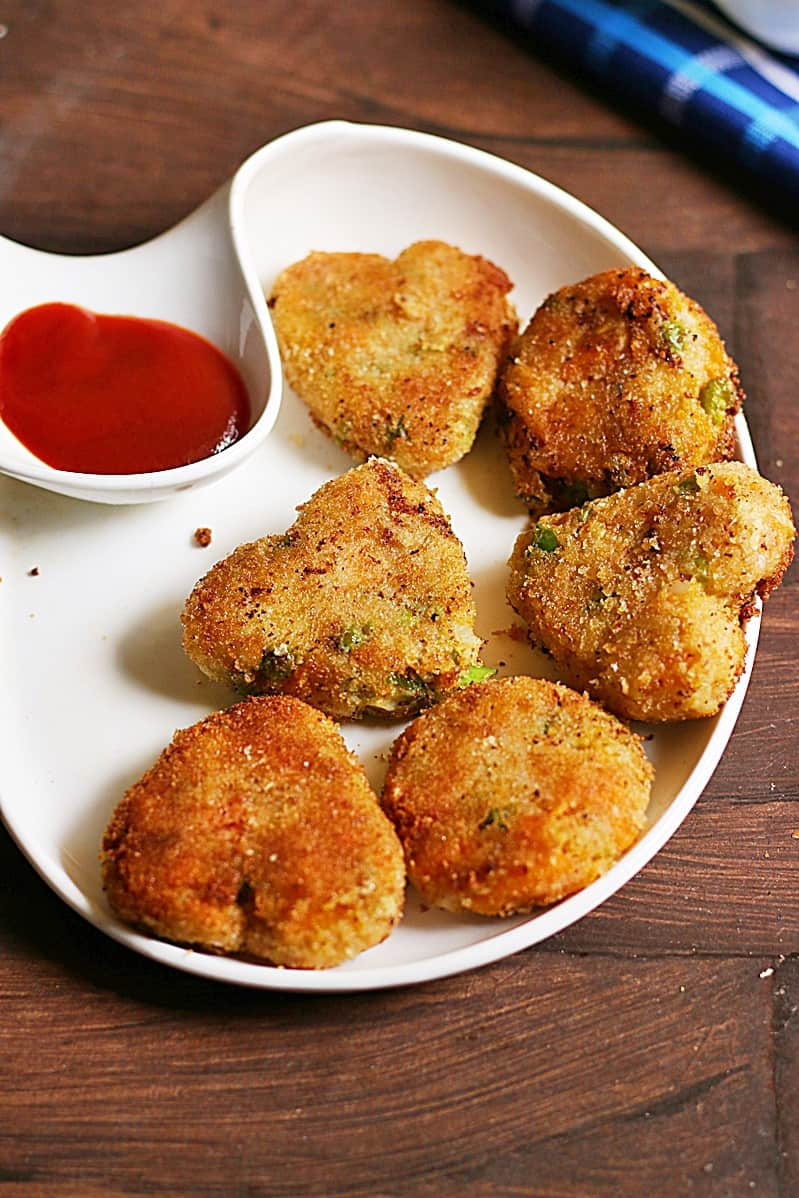 veg cutlet recipe a