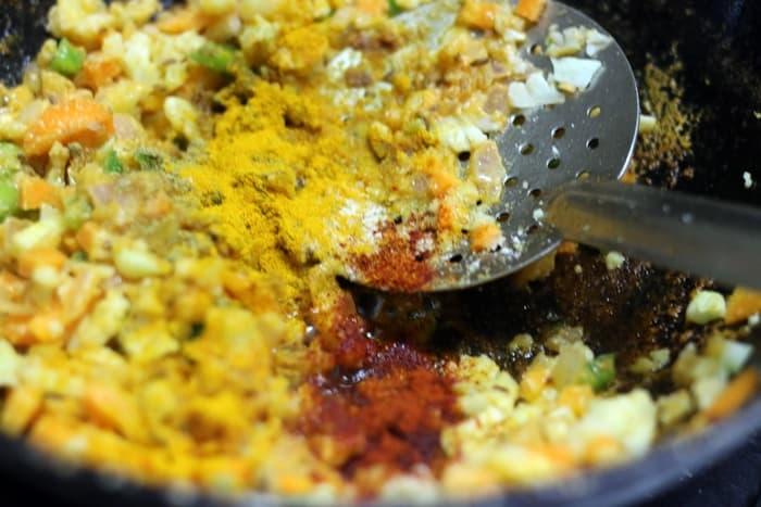 veg kheema masala recipe step 4