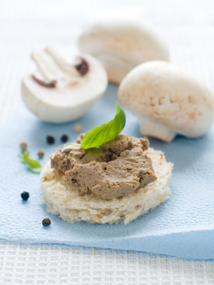 Mushrooms Lentil Pate