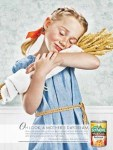 Yes, apparently mothers dream of feeding their kids cans of prepared pasta loaded with sodium, fat and salt