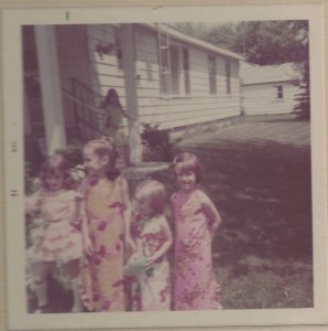 Me, Margaret, Cindy and Katie