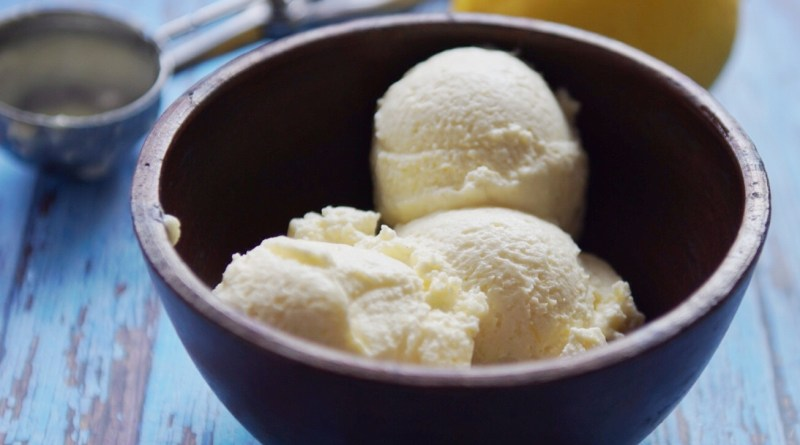ice cream lemon, es krim lemon mudah, homemade ice cream lemon, olahan es lemon, es jeruk nipis, resep membuat es krim mudah