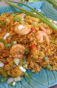Shrimp Fried Rice Diana Style | Colombian Recipes