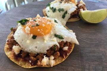 healthy huevos rancheros recipe
