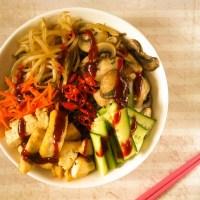 Vegan Soba Noodle Bibimbap
