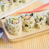Spicy Chicken Sushi Roll