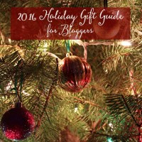 2016 Holiday Gift Guide for Bloggers