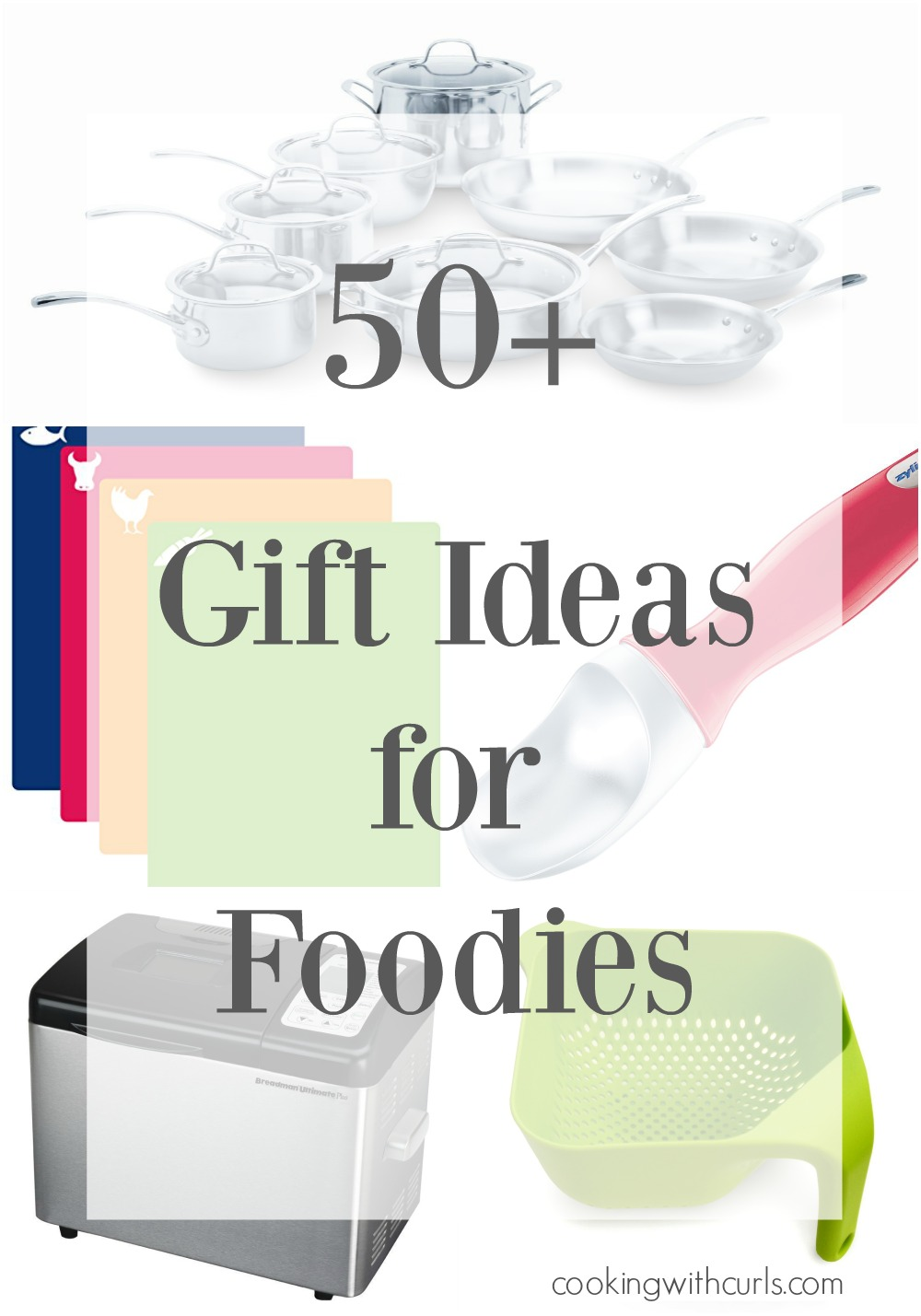 Sparkling Everyone On Your List That Loves To Cook Cookingwithcurls Practical Ideas Ranging From Stocking Stuffers To Dream Gifts 50 Gift Ideas Foodies Ultimate Collection gifts Gifts For Newlyweds