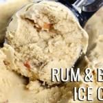 Rum & Bacon Ice Cream Recipe