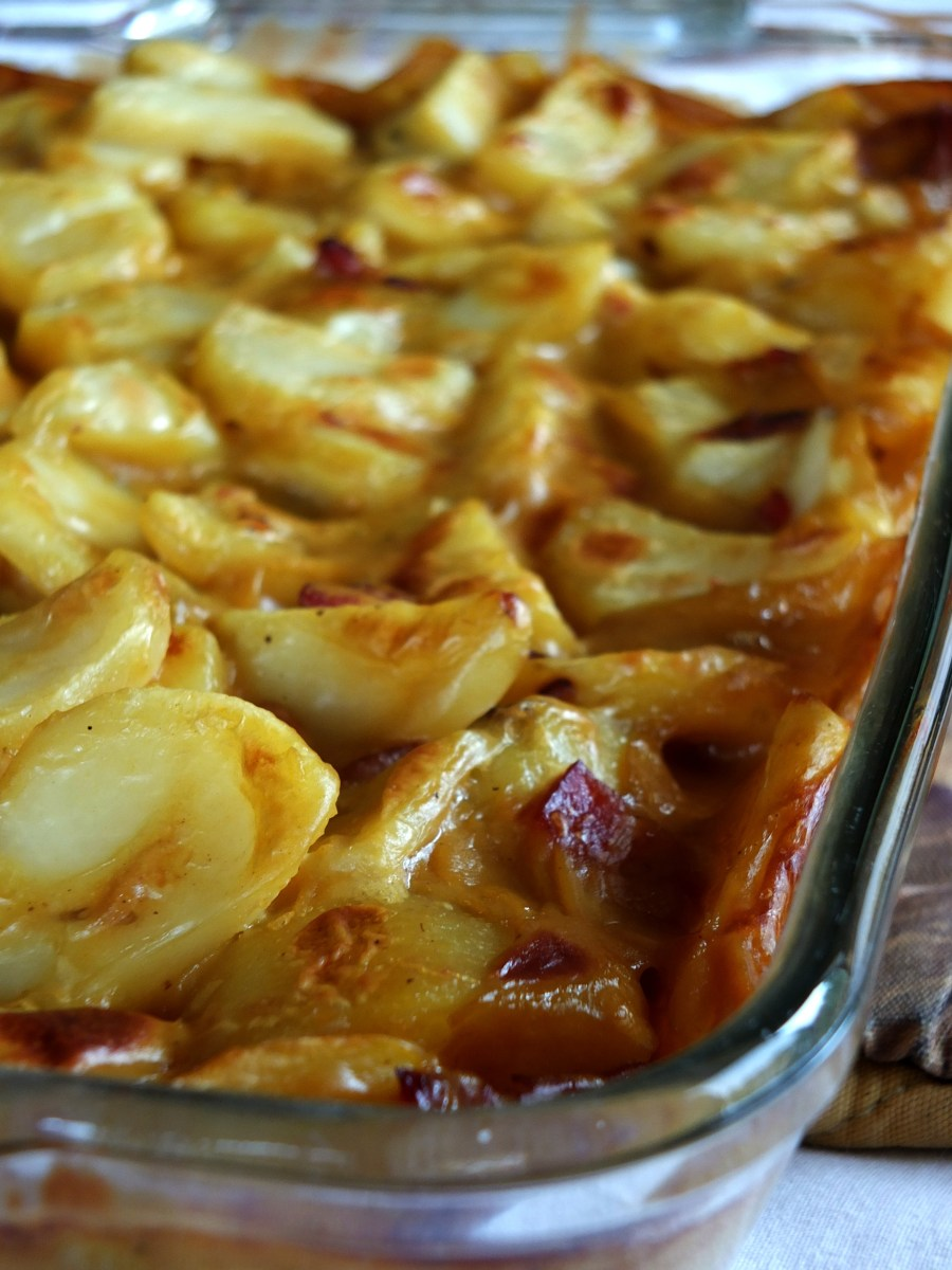 """Cheesy"" Potato Casserole (Dairy-Free, AIP option)"