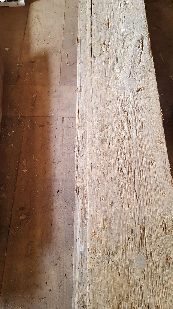 Threshing Board Floor