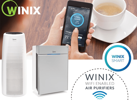 Winix Wifi Air Purifier. Full story at www.cookwith5kids.com