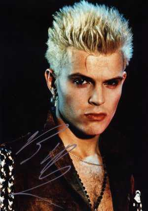 Billy Idol Blonde Punk Hairstyle     Cool Men s Hair Billy Idol spiky hairstyle