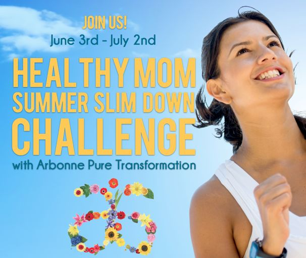 Healthy Mom Summer Slim-Down Challenge with Arbonne Pure Transformations - (cool) progeny