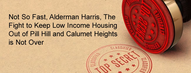 Fight to keep low-income housing out of Pill Hill Calumet Heights