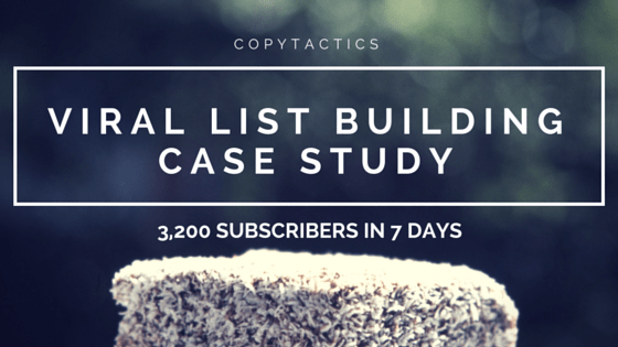 Viral List Building Case Study - Feature Image