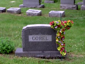 Corel Family Tombstone