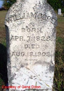 William Corel Tombstone